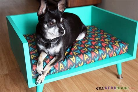 diy dog sofa mid century modern style pet bed 183 how to make a pet bed