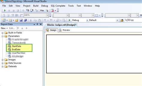 format date parameter in ssrs how to default ssrs date parameters to the first and last