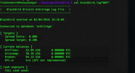 bitcoin arbitrage bitcoin arbitrage blackbird cryptotrading