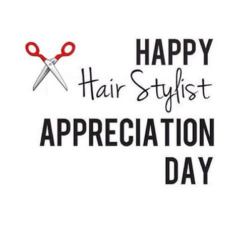 when is national hairdressers day hairstylists appreciation day 2018 2019 calendar with