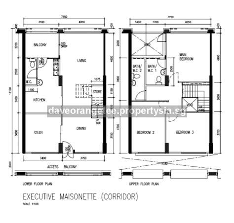 maisonette floor plan executive maisonette hdb em blk 603 elias road executive