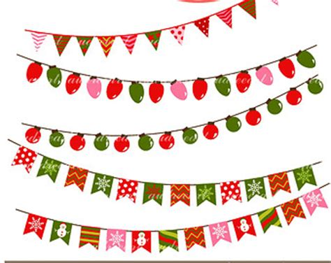 Christmas Free Holiday Banner Clip Art