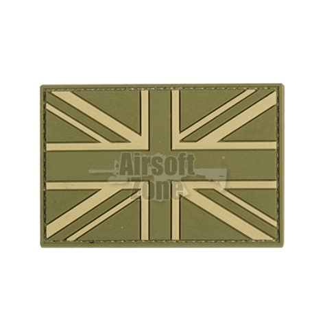 Patch Pvc M249 With Velcro uk flag union green pvc velcro patch