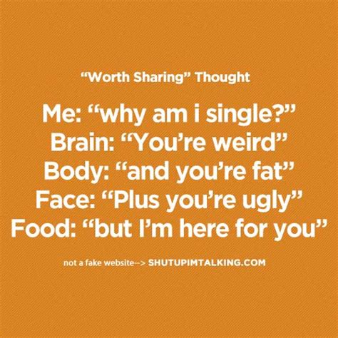 why you think youre ugly the fallacy of standardizing i love you too food shut up i m talking