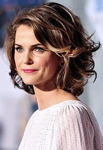 short piecey bob with bangs hairstyles on pinterest keri russell keri russell hair