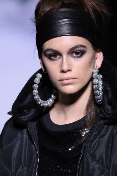kaia gerber earrings kaia gerber costume hoops kaia gerber hoop earrings