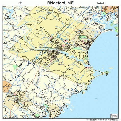 map of biddeford maine biddeford maine map 2304860