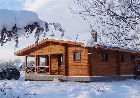 casas casas casa de madera en la nieve casa para la monta 241 a