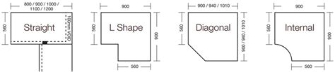 How To Measure For Kitchen Cabinets by Cabinet Sizes Blok Designs Ltd