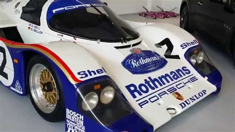 rothmans porsche rothmans porsche 962 at joe macari s showroom youtube