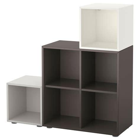 ikea eket cabinet eket cabinet combination with feet white dark grey light