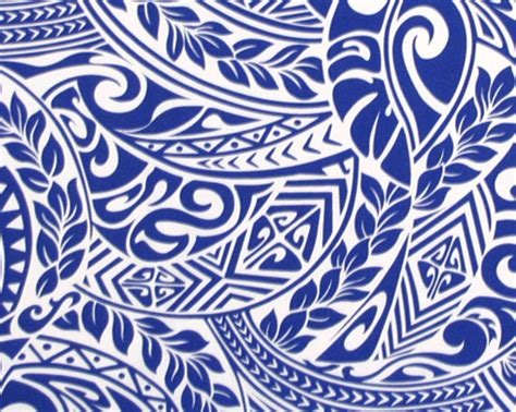 tribal print tattoo hawaiian tribal print fabric www pixshark images