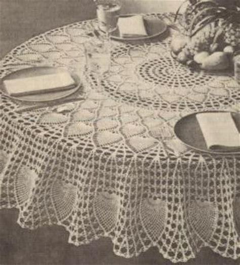 pattern crochet round tablecloth free crochet round pineapple tablecloth pattern crochet