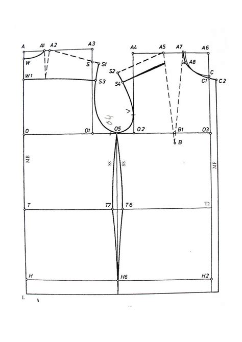 pattern making for blouse basic pattern tutorial p 2 blouse by romailee on deviantart