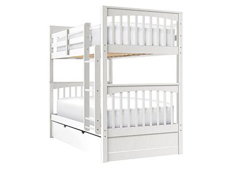 raymour and flanigan bunk beds jordan twin over twin bunk bed w trundle white