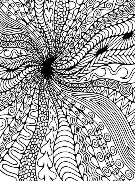 coloring pages for adults difficult abstract difficult coloring pages for adults free printable