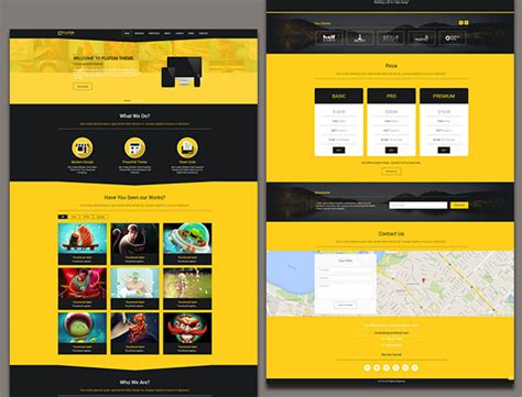 single page phlet templates 100 best free html5 website templates and themes
