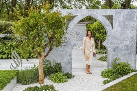 Garden Of Quran In Pictures Islamic Garden Wins Chelsea Show Prize