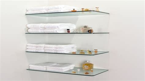 Glass Wall Shelf Floating Glass Shelves Home Depot Glass Shelves Home Depot