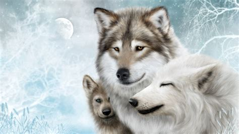 imagenes de la familia wolf tapete w 246 lfe familie raubtiere mond 2560x1440
