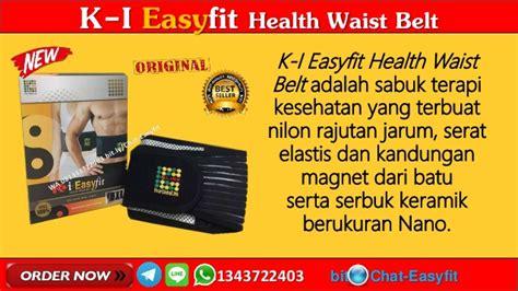 Sabuk Pinggang Termahal Easyfit Waist Belt 1 wa 081343722403 jual alat terapi pinggang k link easyfit