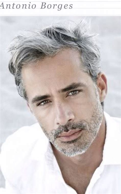 over 50 male gray hair 405 best images about gray haired man on pinterest