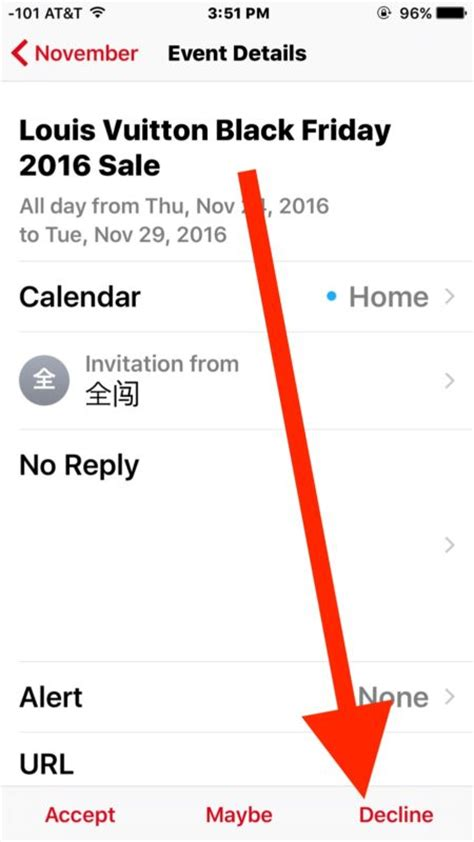 Can You Do Calendar Invites On Iphone Get Icloud Calendar Spam Invites How To Stop Them