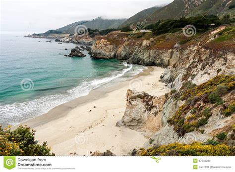 Pch Beaches - california beach along pacific coast highway stock photo image 37546280