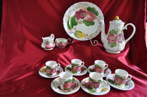 Fiori Coffee Set porcelain fiore simpsons pottery 16