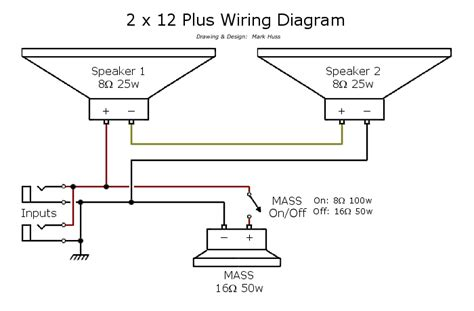 wiring 4x12 16 ohm speakers wiring free engine image for