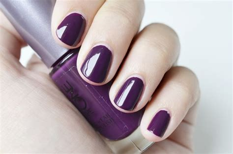 Manicure Oriflame oriflame purple in nailpolish swatches the o jays and
