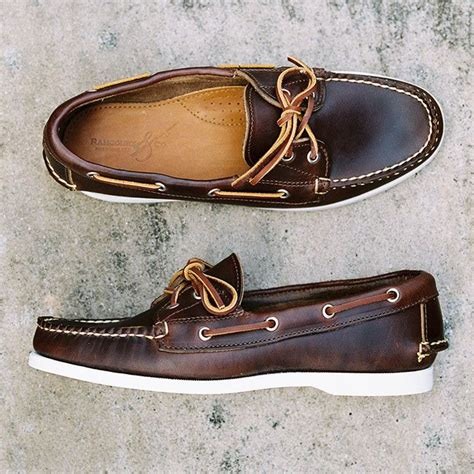 chromexcel boat shoes rancourt chromexcel boat shoe in dark brown shoes