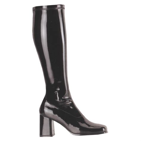 gogo boots s pleaser usa inc stretch gogo boots 194165