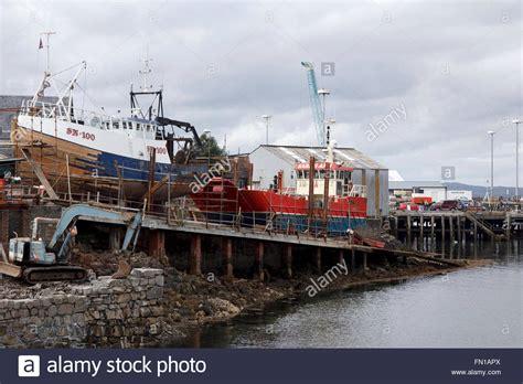 scotland fishing boat repair stock photos scotland - Boat Repairs Scotland