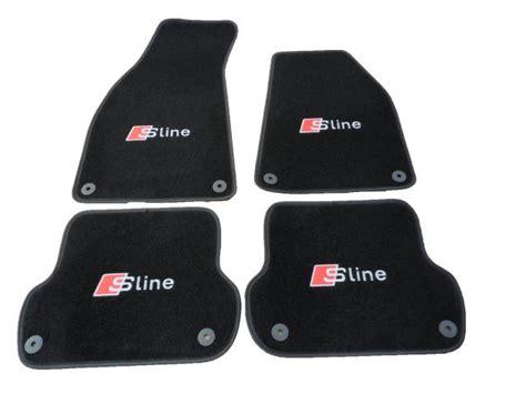 audi a4 s line premium car mats with s line logo b6 b7