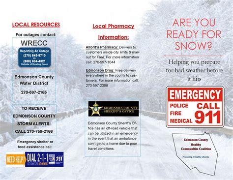 Info Lu Emergency local winter emergency information be ready this season