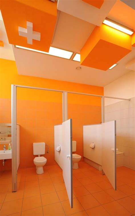 Bathroom Design Courses by Colorful Refurbishment Kindergarten Bathrooms