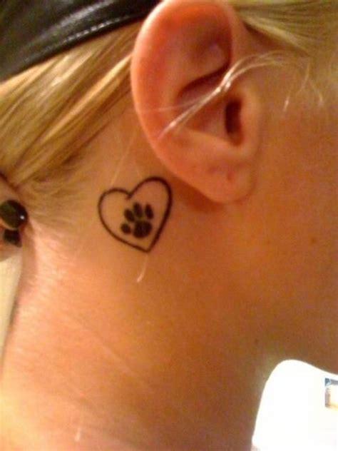 heart tattoos behind your ear beautiful heart tattoo 2 heart ear tattoo on