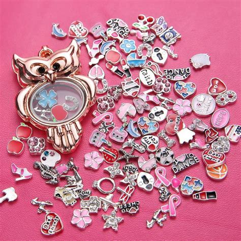 Origami Owl Charms Cheap - 2017 new jewelry pendant origami owl charms floating
