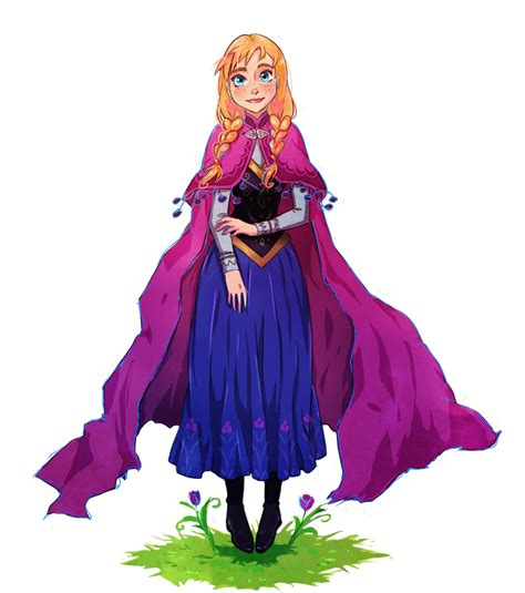 Frozen princess anna by yukihyo on deviantart