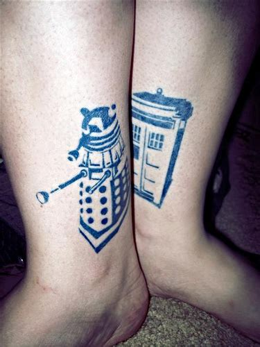 small tardis tattoo team tardis doctor who tattoos