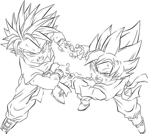 dragon ball z fusion coloring pages free coloring pages of dbz fusion