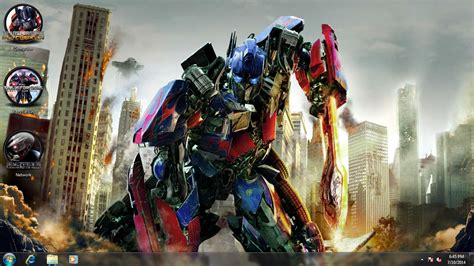 theme windows 8 1 transformer transformers age of extinction theme for windows 7 8 and