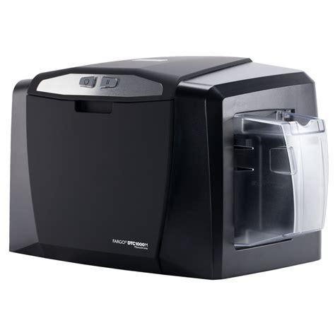 create template fargo card printer hid 174 fargo 174 dtc1000m monochrome card printer encoder hid