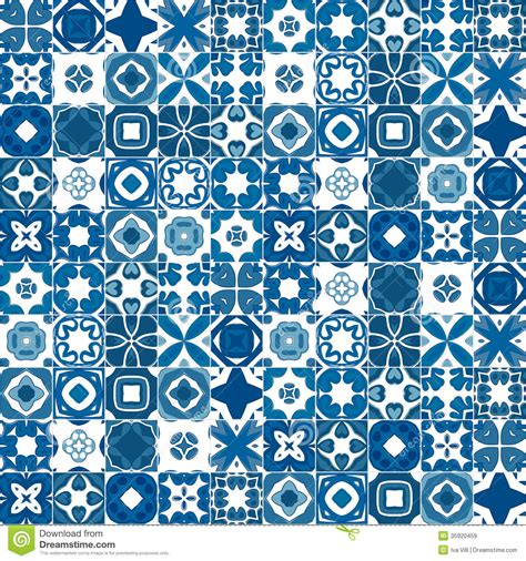 tile pattern en español portuguese tiles royalty free stock images image 35920459