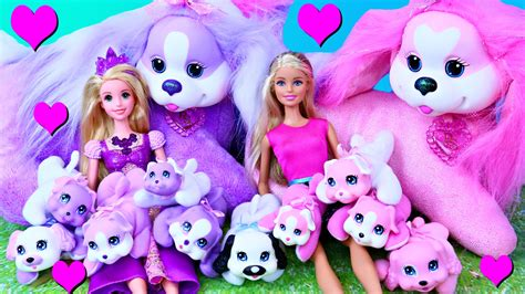 new puppy with new puppy dogs with barking puppy rapunzel dolls by disneycartoys