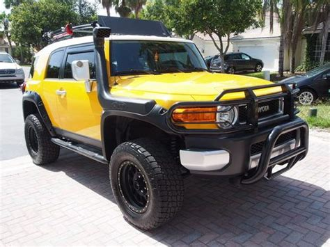 Toyota Fj Lift Kit Sell Used 2008 Toyota Fj Cruiser 44k 3 Inch Lift Kit