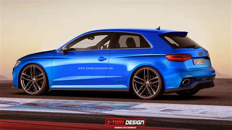 audi rs3 3 porte 2015 audi rs3 three door and sportback rendered