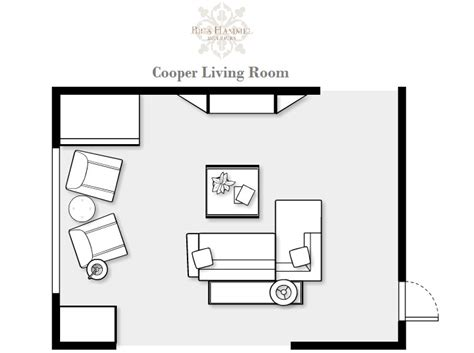 Room Design Floor Plan A Casual Modern Living Room Makeover Bria Hammel Interiors