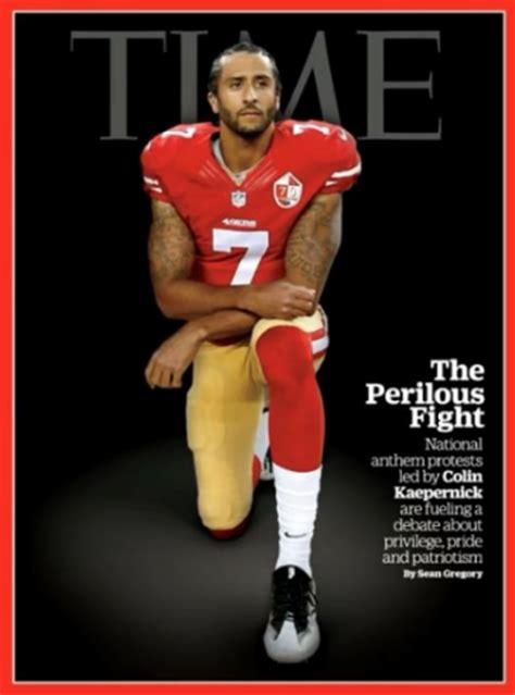 Colin Kaepernick Criminal Record Colin Kaepernick Covers Time Magazine